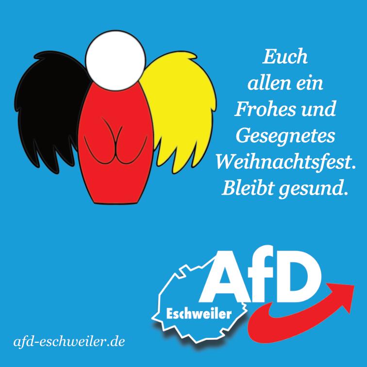 AfD – Stadtverband Eschweiler wünscht frohe Weihnachten!