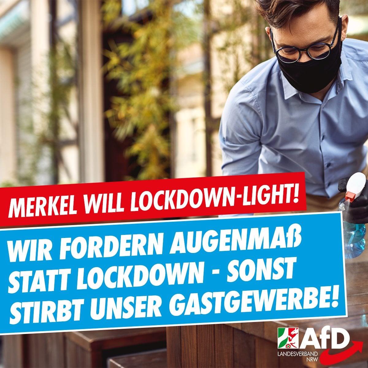 Lockdown light zerstört unser Gastgewerbe