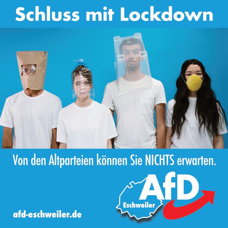 Schluss mit Lockdown